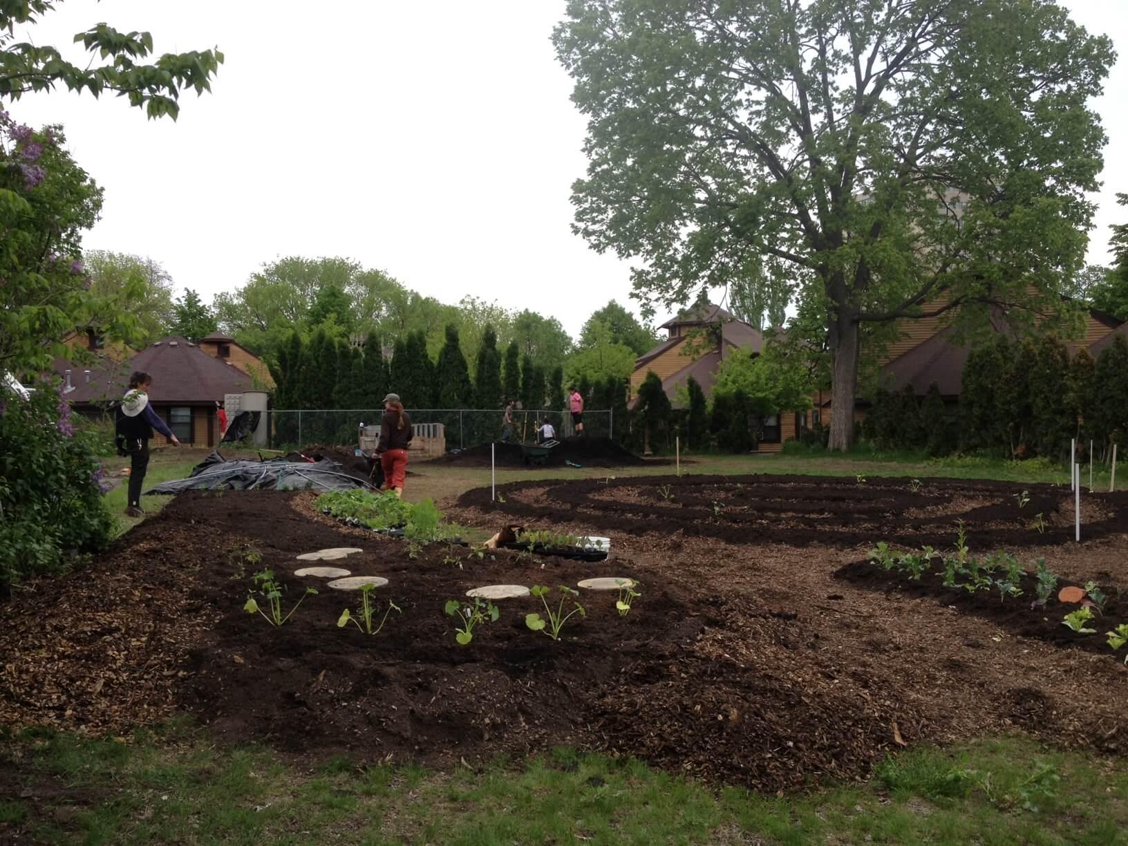 Designing 24th St. Urban Farm May 2013